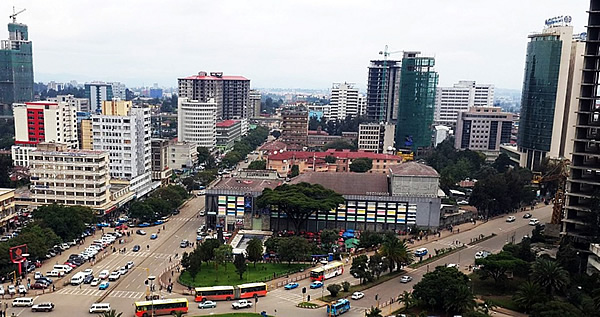 With a boom in construction, Addis Ababa is slated to emerge as one of the most modern cities in Africa.