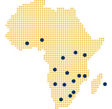 The Liberty Properties presence in Africa through the Standard Bank network.