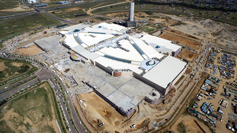 Opening on 28 April 2016, the $340m Mall of Africa will form the iconic hub of the Waterfall precinct in Midrand, Johannesburg.