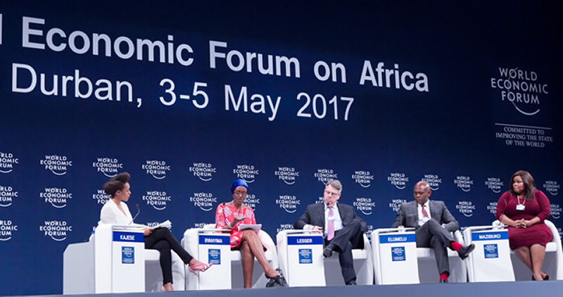 The World Economic Forum (WEF) on Africa was a great opportunity for Government officials, business and NGO leaders to discuss the economic future of Africa.