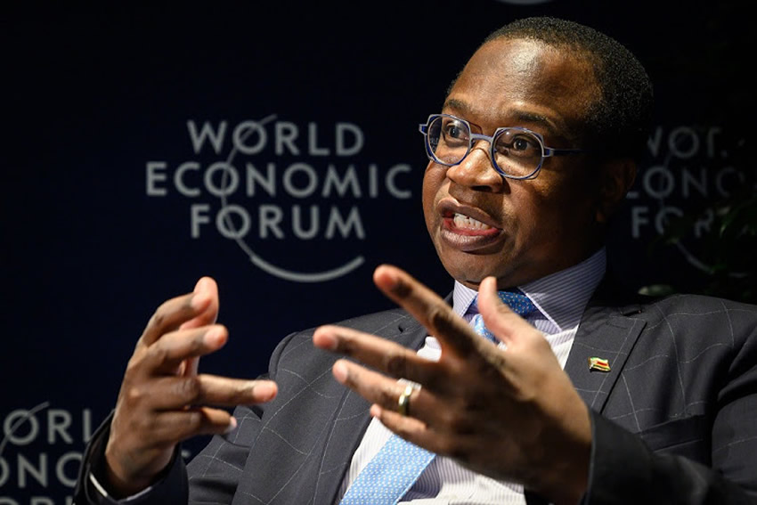 In Davos at the World Economic Forum, Finance Minister Mthuli Ncube said Zimbabwe is the best buy in Africa right now