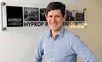 Hyprop Investments will invest R3 billion (approx. $272m) in Sub-Saharan Africa excluding South Africa through Atterbury Africa and African Land says CEO Pieter Prinsloo.