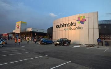 $60 million Achimota Retail Centre located in north-eastern Accra - opened its doors.