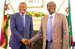 Aliko Dangote from Nigeria, met with Zimbabwean President Robert Mugabe and said he will begin constructing a cement factory in the country.