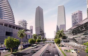 Eko Atlantic is a multibillion dollar residential and business development that is located as an appendage to Victoria Island, and along the renowned Bar Beach shoreline in Lagos.