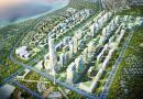 An artist's impression of Kigamboni New City in Dar es Salaam, Tanzania.