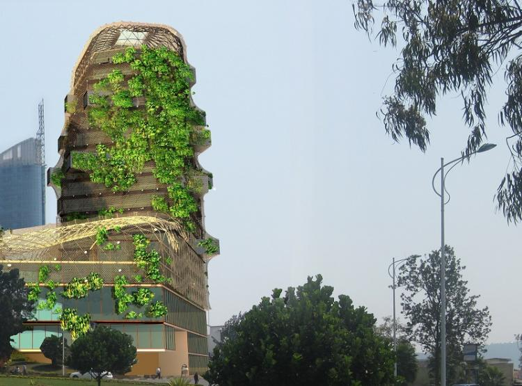 Rwanda namibia add green building to their skyline for Green building articles