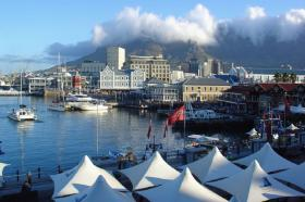 Cape Town's V&A Waterfront boasts an assortment of retail, offices, hotel and residential development set on 123 hectares. It lies on the edge of the harbour and has the iconic Table Mountain as its backdrop.