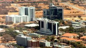 Botswana's economy grew at a slower pace of 0.5 percent in the third quarter of this year after growing 2.5 percent in the second quarter.