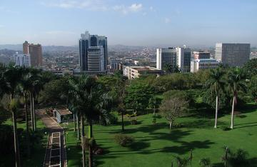 Kampala is the capital and largest city of Uganda. The city is divided into five boroughs that oversee local planning: