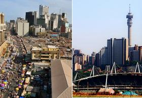 Lagos may be the pearl of the future for property investment while Johannesburg is a competitive centre.
