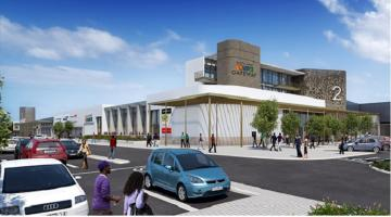 An artist's impression of Novare Gateway Mall in Nigeria's capital city of Abuja, scheduled to open during the third quarter of 2017.