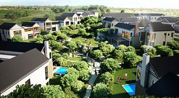 Steyn City, a 2 000-acre multi-billion-rand luxury lifestyle resort with upmakert residential, golf course and commercial space was unveiled last week by Insurance magnate Douw Steyn.